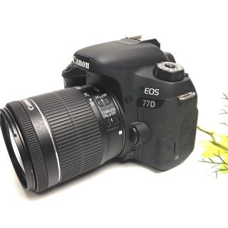 Máy ảnh Canon 77D & 18-55 STM ( like new 99%)