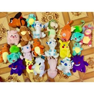 Set 22 con pokemon nhồi bông