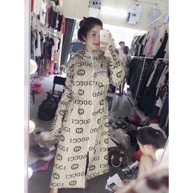 [Mã WACCBLT hoàn 20% xu đơn 99k] Áo váy chống nắng chất thô kate 2 lớp kèm khẩu trang