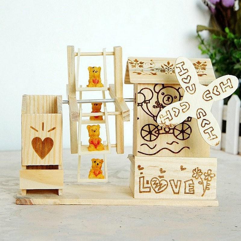 hộp nhạc bằng gỗ - 4624 Hàng Chất Lượng