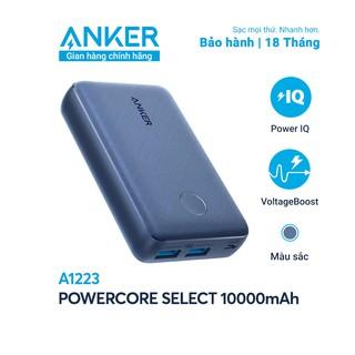 """[Mã ANKER504 giảm 5% đơn 799K] Pin sạc dự phòng ANKER PowerCore Select 10000mAh - A1223 giá chỉ còn <strong class=""""price"""">37.500.000.000đ</strong>"""