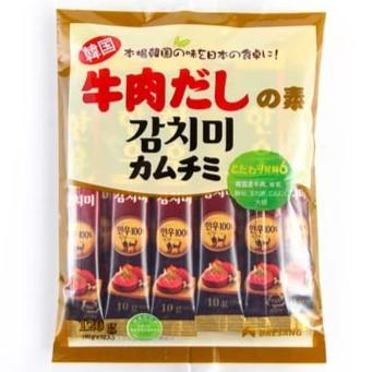 Hạt nêm thịt bò dạng ống Daesang (10gx12 gói)