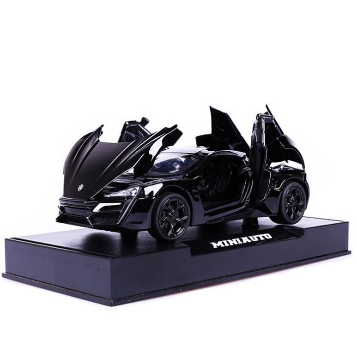 Mô hình siêu xe Lykan Hypersport kim loại cao cấp