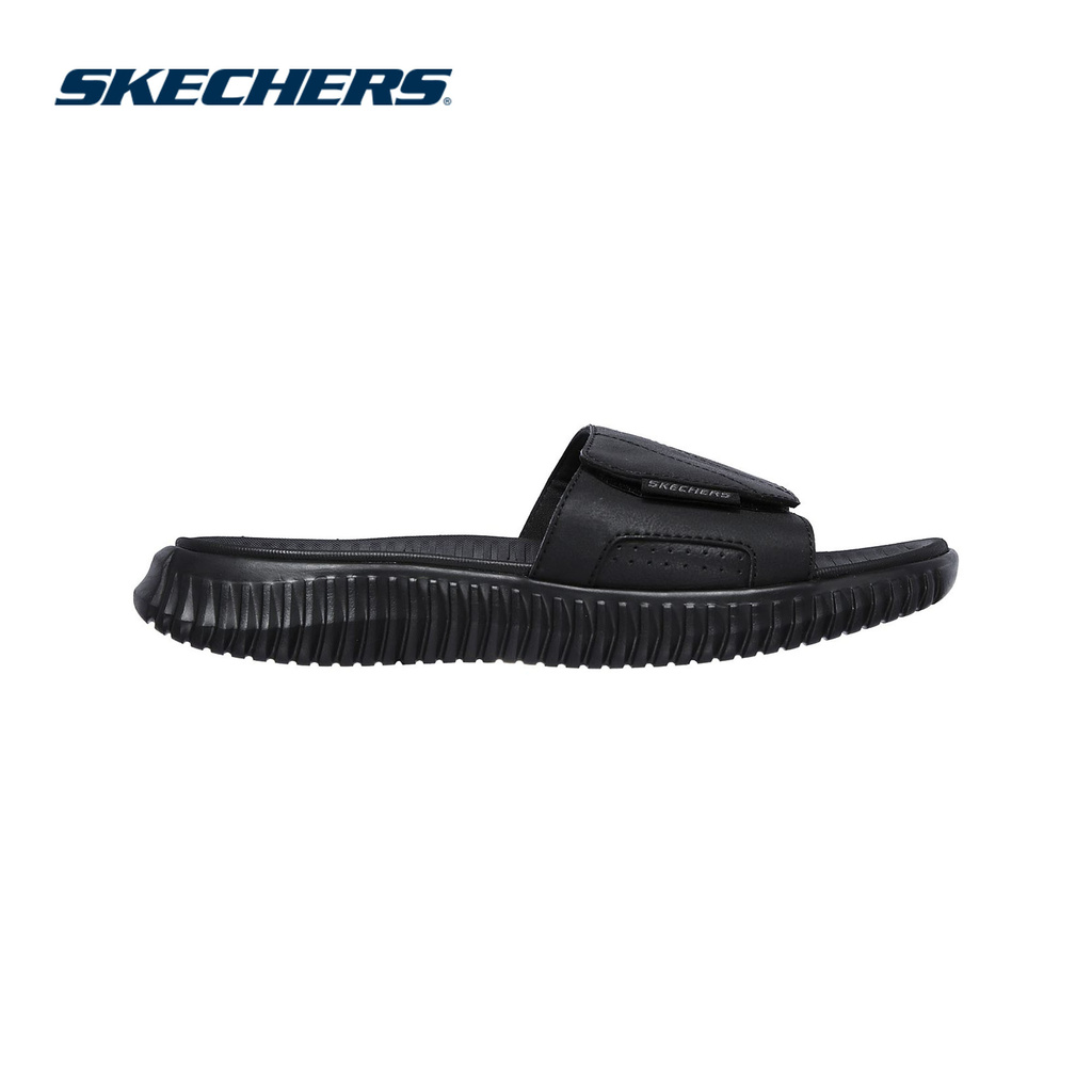 Skechers Nam Dép Quai Ngang Elite Flex Sport Casual - 237070-BBK