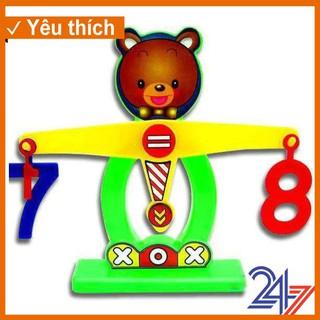 Bộ học cân nặng cân bằng thú vị Dream Toy (Giao màu ngẫu nhiên) [Super Sale]