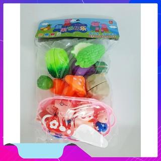 [HOTT] Bộ đồ chơi cát hoa quả nhà lợn Pig Giá Gốc