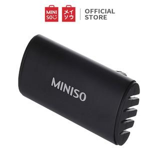 Máy lọc không khí khuếch tán tinh dầu trên ô tô Miniso (Đen/Xanh) - Hàng chính hãng