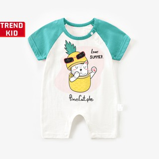 [Mã TREND20 giảm 15% đơn 99K] Bodysuit liền thân cho trẻ sơ sinh in hình Love summer Michley