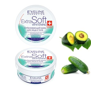 Kem dưỡng trắng da mặt và Body Extra Soft Eveline