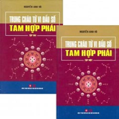 [ Sách ] Trung Châu Tử Vi Đẩu Số Tam Hợp Phái (Trọn Bộ)