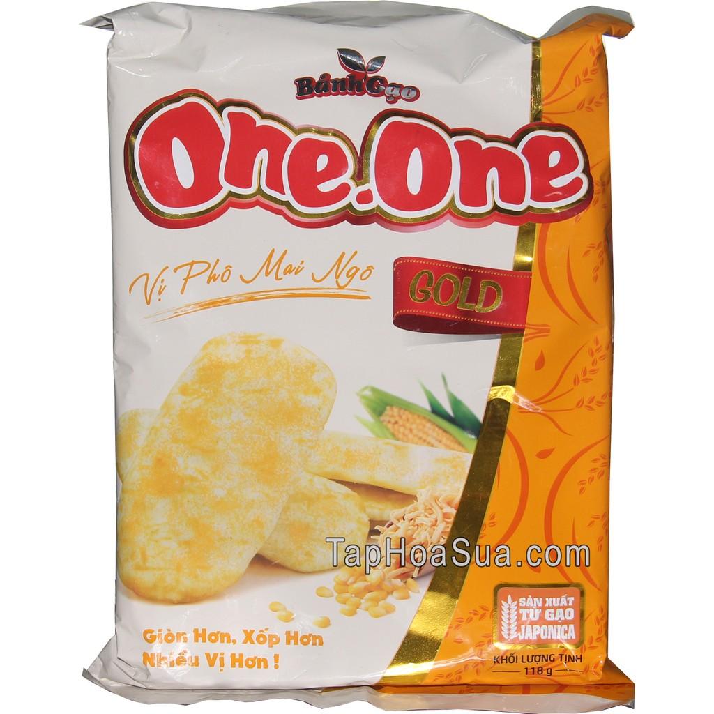 BÁNH GẠO ONE ONE GOLD VỊ PHÔ MAI NGÔ 118G - 235218775,322_235218775,22000,shopee.vn,BANH-GAO-ONE-ONE-GOLD-VI-PHO-MAI-NGO-118G-322_235218775,BÁNH GẠO ONE ONE GOLD VỊ PHÔ MAI NGÔ 118G