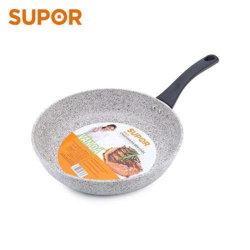 Chảo vân đá chống dính dùng trên bếp từ Rock Supor F23A24IH 24cm - 3614653 , 1187501832 , 322_1187501832 , 299900 , Chao-van-da-chong-dinh-dung-tren-bep-tu-Rock-Supor-F23A24IH-24cm-322_1187501832 , shopee.vn , Chảo vân đá chống dính dùng trên bếp từ Rock Supor F23A24IH 24cm