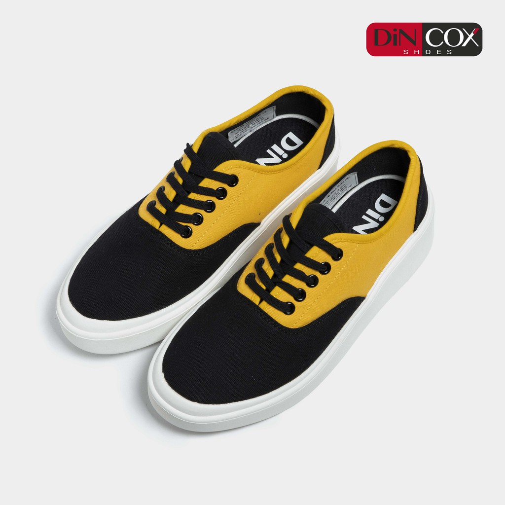 Giày Sneaker Nam/Nữ Dincox D23 Black/Y