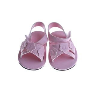 MUL❤ 18 Inch American Girl Doll Shoes for 43CM Zapf Reborn Baby Doll Summ