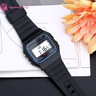 Đồng hồ thể thao kĩ thuật số đa chức năng LED ( màu đen )