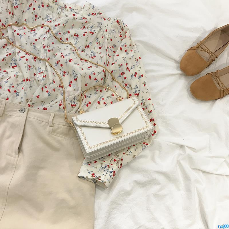Full order250000shipmentsCrossbody bag female 2019 new fashion portable small square bag high-grade bag oceanic single s