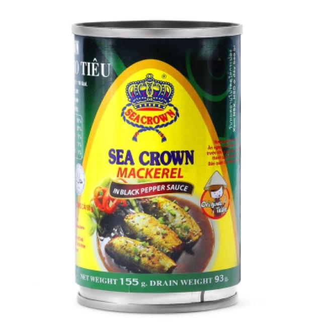 Cá nục kho tiêu Sea Crown 155g - 2502502 , 293389853 , 322_293389853 , 15000 , Ca-nuc-kho-tieu-Sea-Crown-155g-322_293389853 , shopee.vn , Cá nục kho tiêu Sea Crown 155g