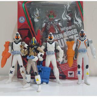 Set 4 mô hình Kamen Rider Fourze