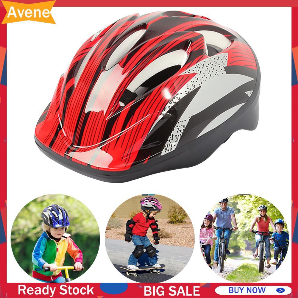 AVENE Mũ Bảo Hiểm Bảo Hộ An Toàn Cho Bé Khi Đi Xe Đạp / Trượt Ván / Đạp