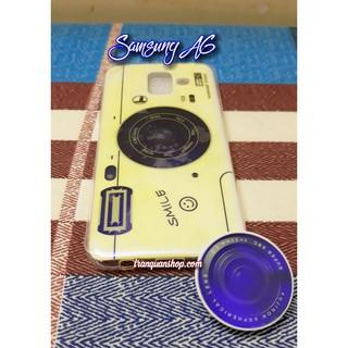 [Samsung A6] Ốp lưng camera smile cho Samsung A6 + iring cùng mẫu