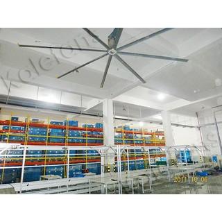 Quạt trần công nghiệp HVLS Kale dòng EURUS II đường kính cánh 4.9 đến 7.3m