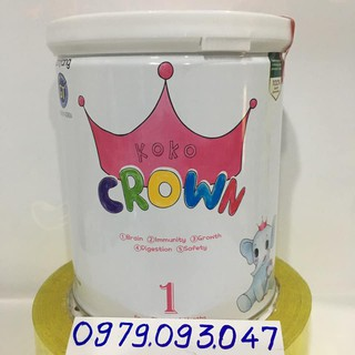 sữa koko Crown 1 - 400g date 4 2022
