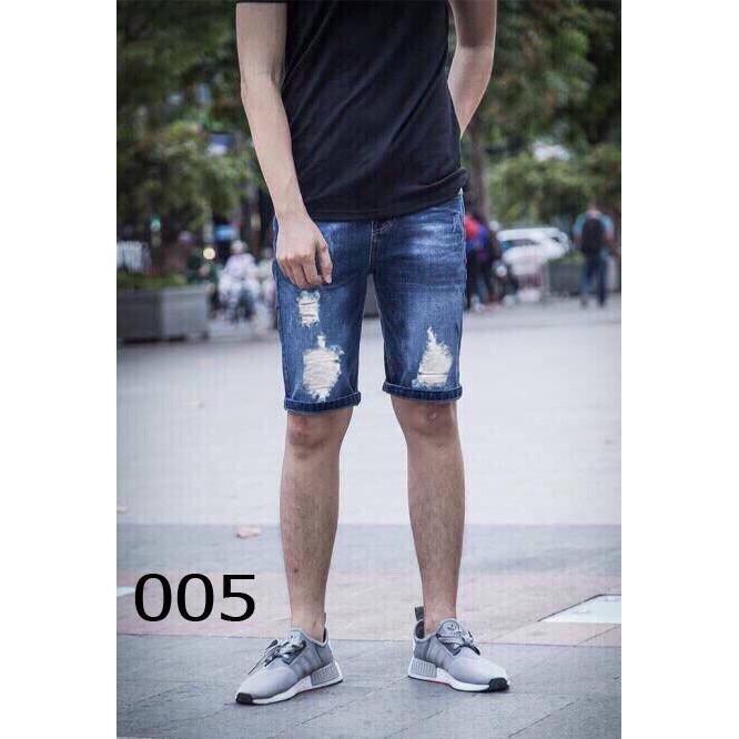 005 quần sọt jean nam thời trang