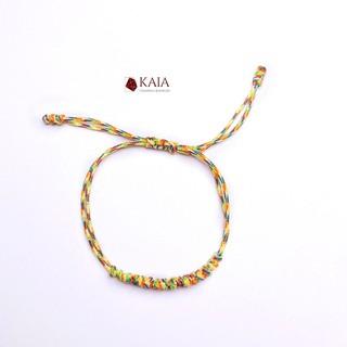 Vòng tay handmade dây chỉ ngũ sắc- May mắn bình an - KAIA thumbnail