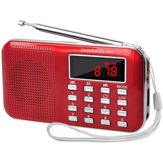 Đài Radio Retekess PR11 Di Động Nhận Tín Hiệu FM AM Tích Hợp MP3 Có Màn Hình Màu Đỏ Vàng Tùy Chọn thumbnail