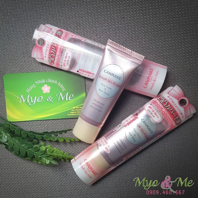 Kem lót Canmake Smooth Skin Primer Pore Cover & Mat keep SPF18・PA++