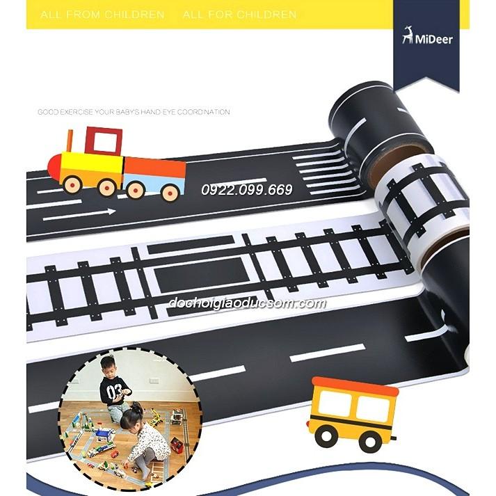 Bộ decal đường giao thông cho bé ( Full bộ )
