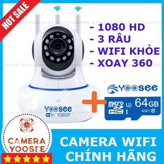 Camera IP YooSee Tiếng Việt Và Thẻ Nhớ 32Gb Yoosee Chuyên Dụng