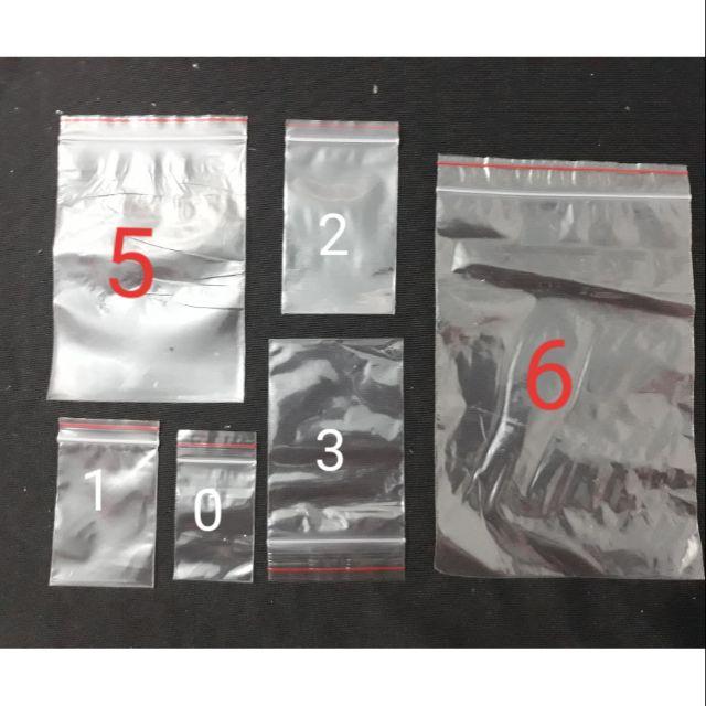 Túi zip ( 10 túi )