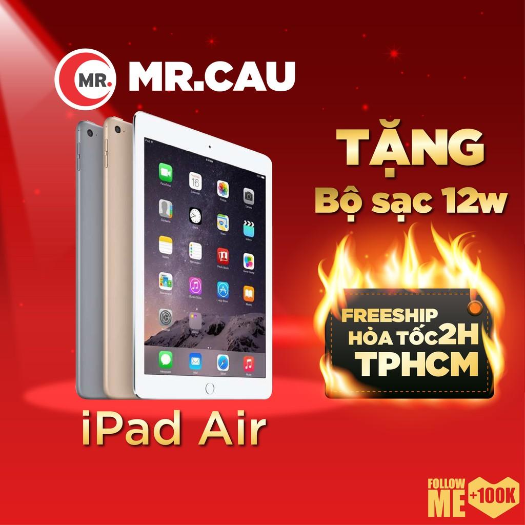 Máy tính bảng Apple iPad Air 1 (4G/WIFI) chính hãng APPLE – Khuyến Mãi: Tặng bộ sạc 12W + Loa Bluetooth F3