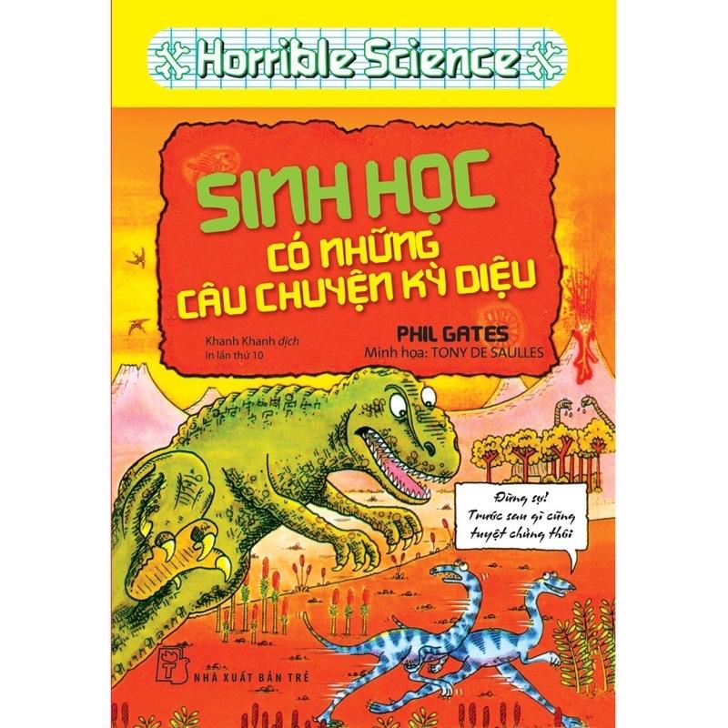 Sách - Horrible Science - Sinh Học Có Những Câu Chuyện Kỳ Diệu