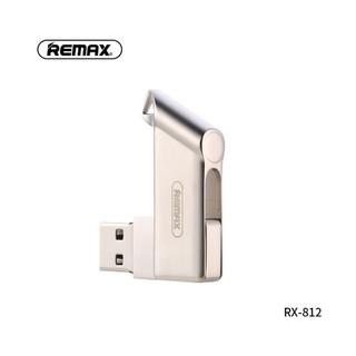 [Mã ELFLASH5 giảm 20K đơn 50K] Remax Flash Disk Drive USB 2.0 RX-812 - Hàng chính hãng