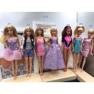 Búp bê barbie chính hãng Lô A