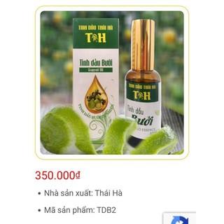 Tinh dầu bưởi Thái Hà