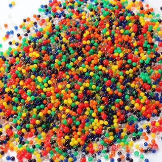 Túi 10000 hạt nở hạt tinh thể trồng cây thủy sinh trrang trí nhà cửa, đồ chơi đạn nước mã YHF45 PB1989