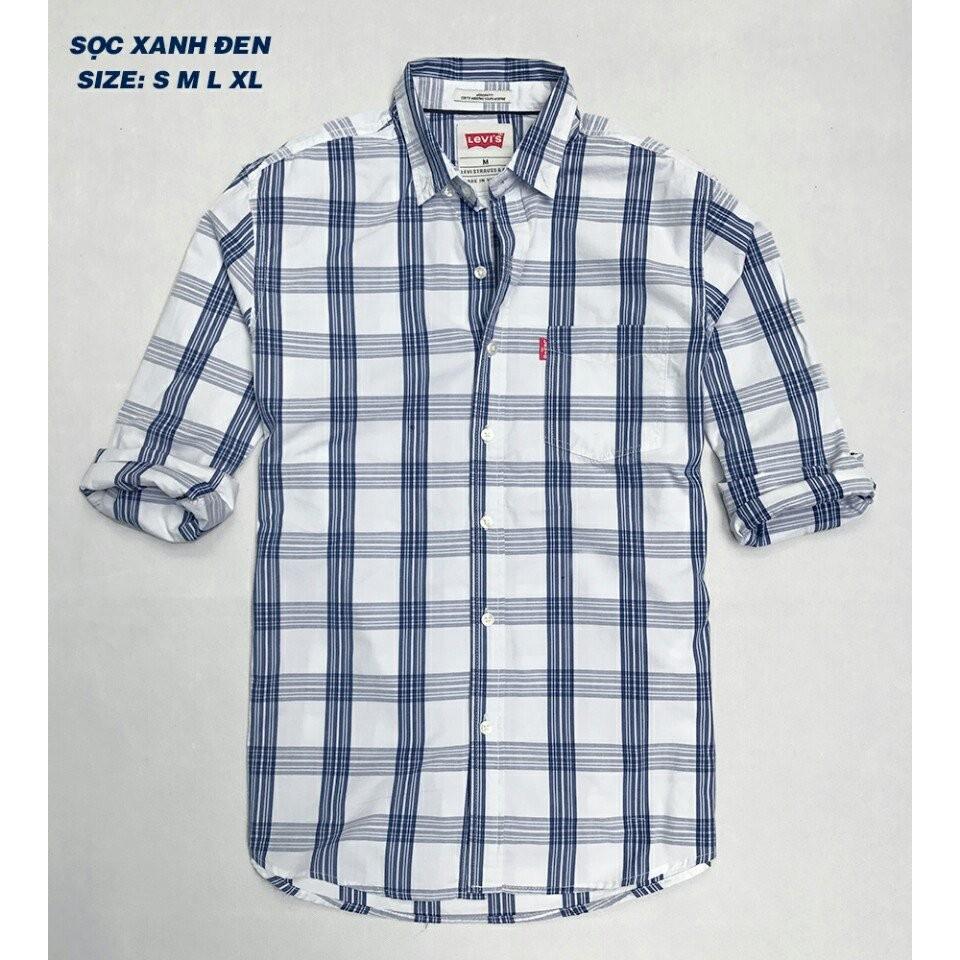 áo sơ mi nam kẻ sọc trắng xanh vải nhập đẹp - 2637753 , 404394372 , 322_404394372 , 250000 , ao-so-mi-nam-ke-soc-trang-xanh-vai-nhap-dep-322_404394372 , shopee.vn , áo sơ mi nam kẻ sọc trắng xanh vải nhập đẹp