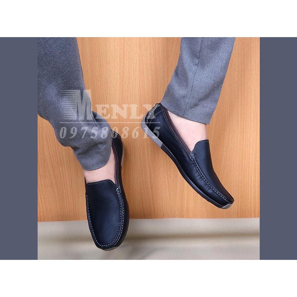 Giày nam da thật phong cách trẻ trung - SEGL128