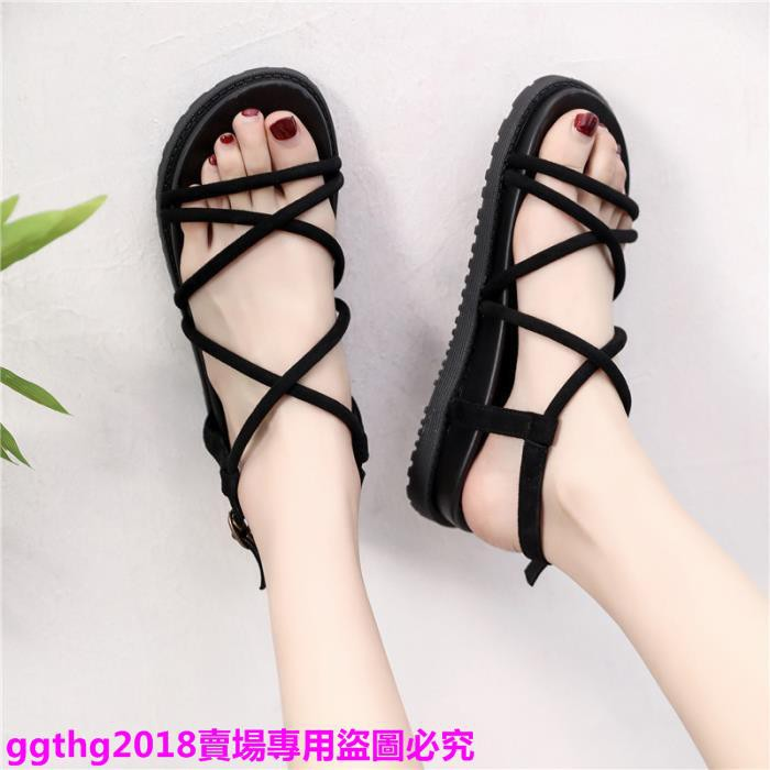 giày sandal nữ đế dày thời trang hàn