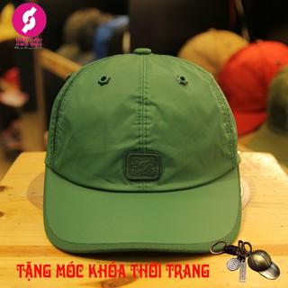 Mũ nón sơn xanh lá tặng móc khóa thời trang CA08