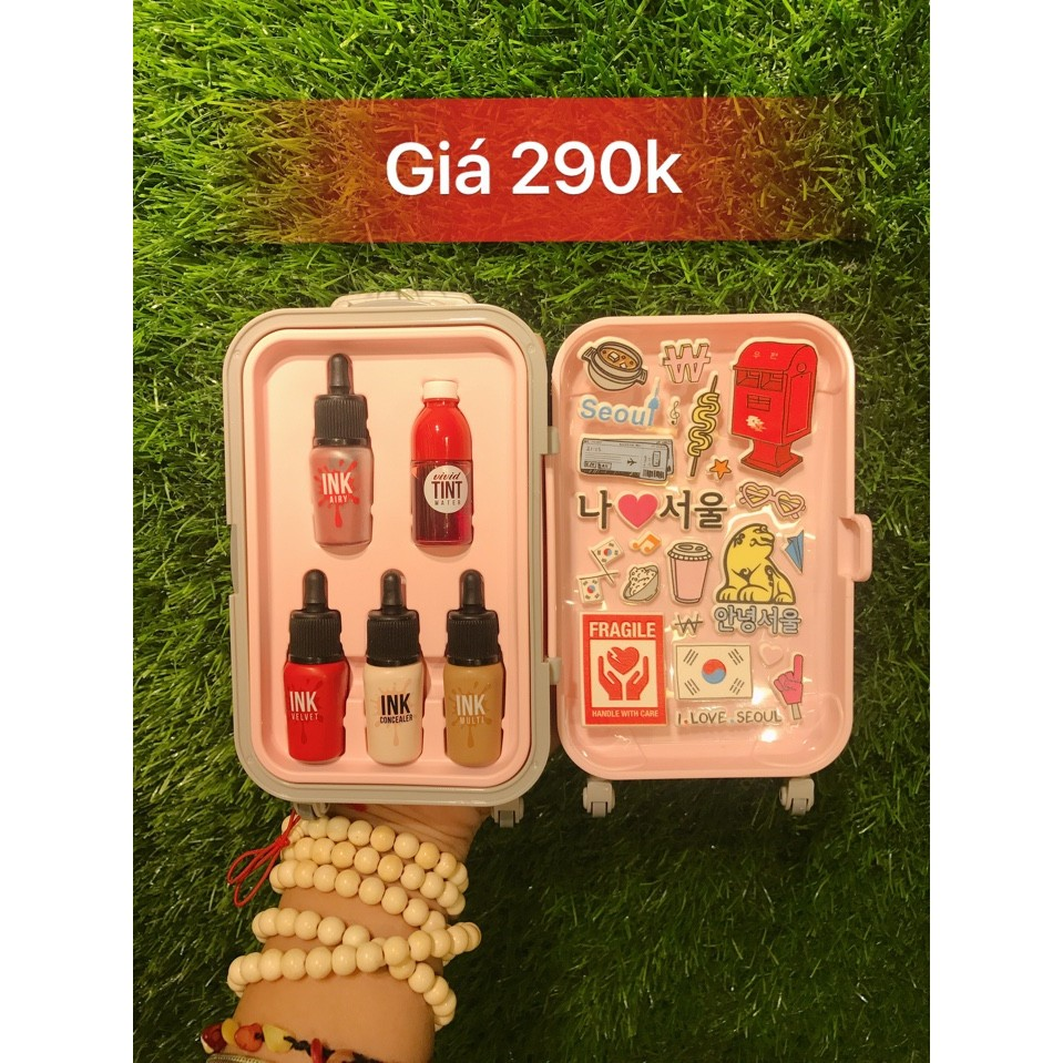 Set son Vali Mini SuitCase Collection này của Peripera