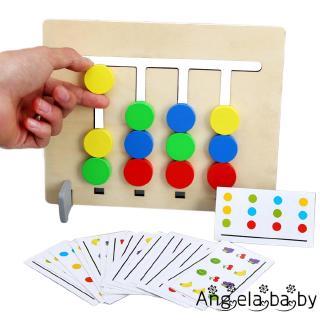 ⓗღ✯Children´s Logical Training Toys Puzzle Color & Fruit Matching Toys Kindergarten Teaching Aids