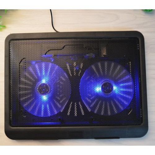 Đế Tản Nhiệt Laptop 2 Quạt Tốc Độ Lớn Cooling Pad S3