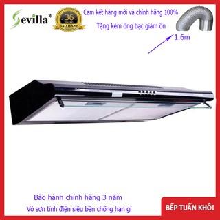 [Mã ELTECHZONE giảm 6% đơn 500K] Máy hút mùi Sevilla SV270Black -70cm