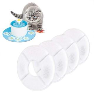 Miếng lọc carbon hình tròn dùng cho máy uống nước tự động cho chó mèo thumbnail