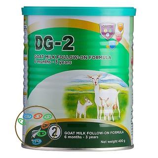 [Date 04 2022] Bộ 11 lon tặng 01 lon Sữa dê công thức DG 2 400g thumbnail