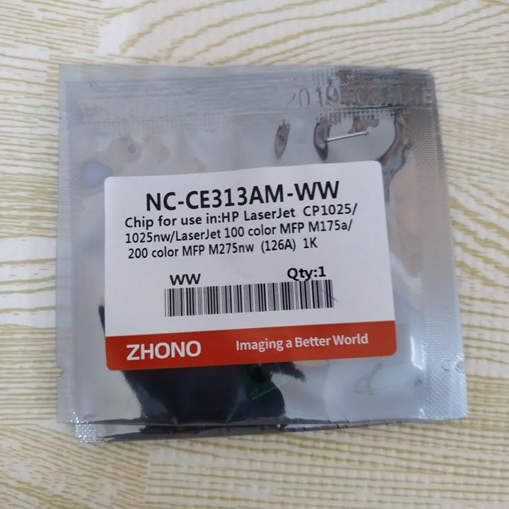 Chip mực máy in HP Color Pro 200 M251/ M276nw, Canon LBP7100Cn, 7110Cn, 8210Cn, 8280Cw | CF210A/ CF211A/  CF212A/  CF213